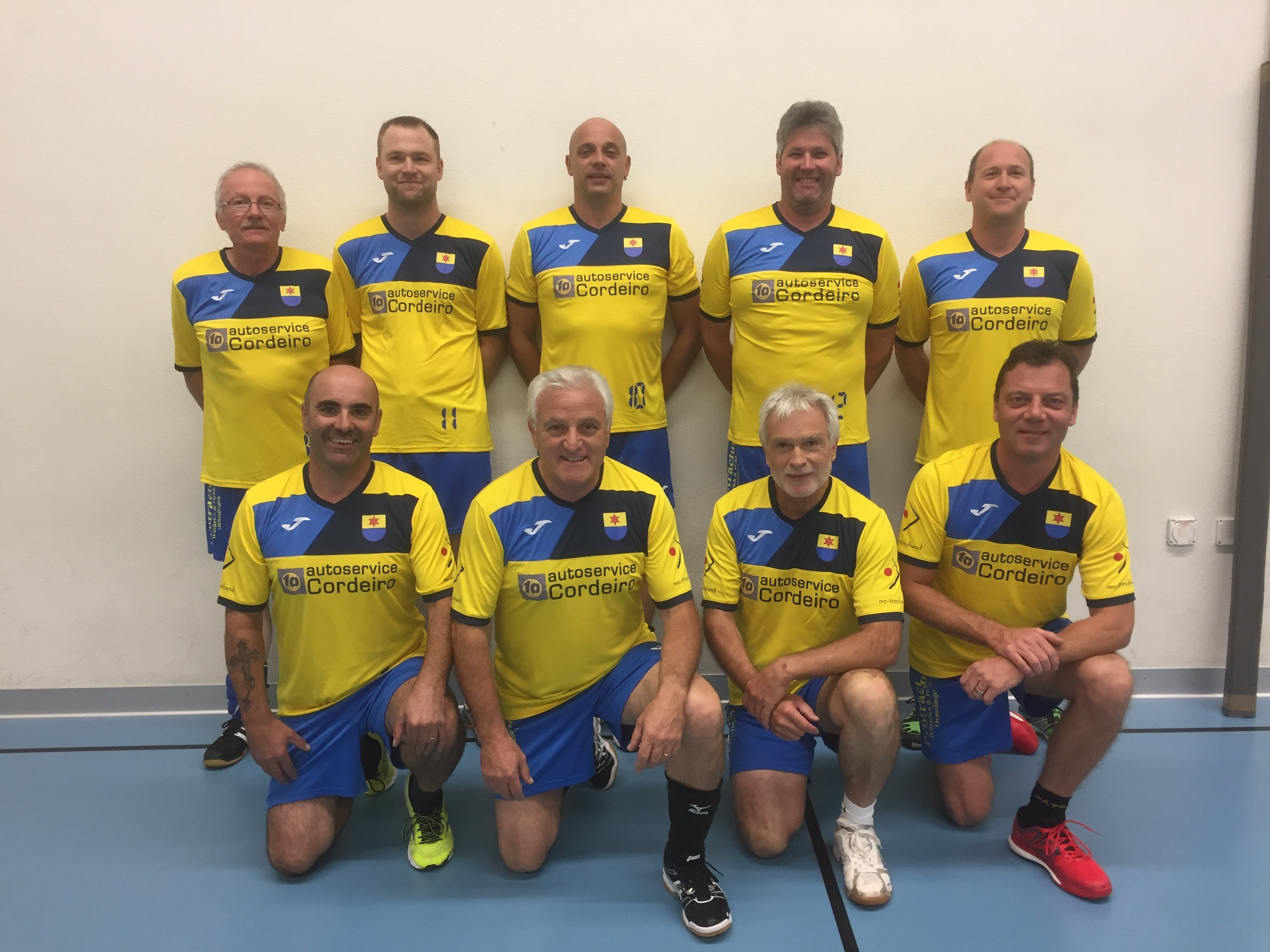 Männerriege-Volleyball-Team und ihre Spiele